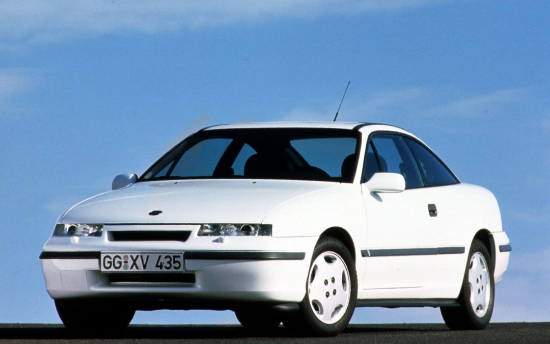 The time is now… The Vauxhall Calibra